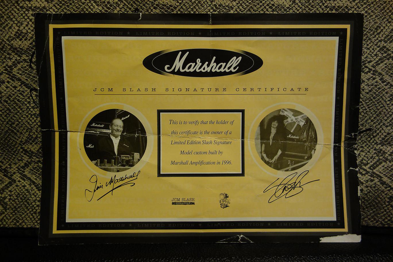 marshall slash signature