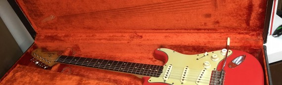 Amazing 1961 Fender Stratocaster in Fiesta Red